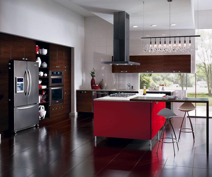 cucina-colore-ciliegia
