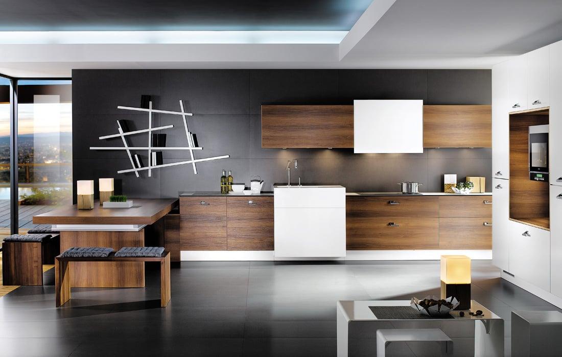 cucina-moderna-marrone-bianco