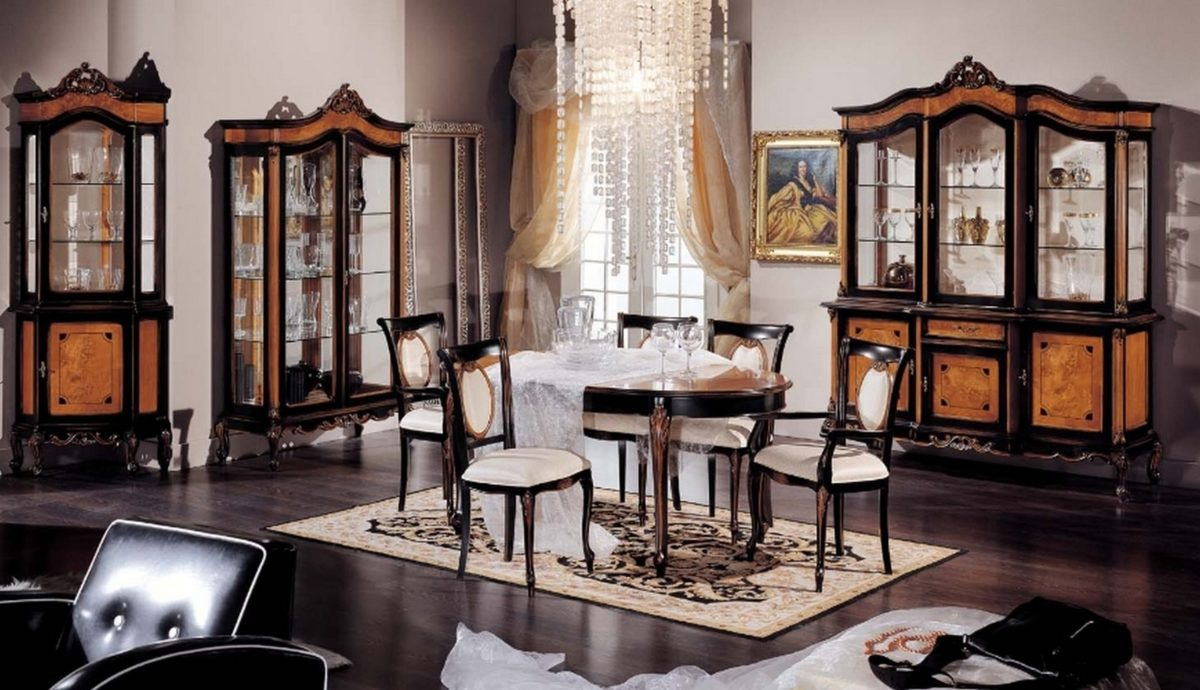 Sala da pranzo classica come arredare con stile - Sala da pranzo classica ...