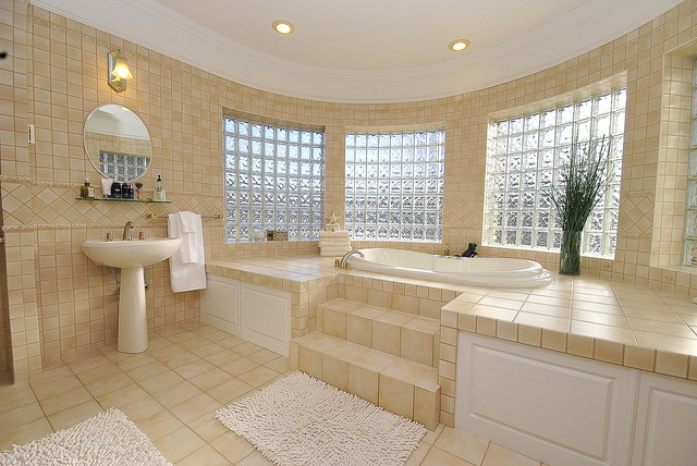 vetrocemento-luce-bagno