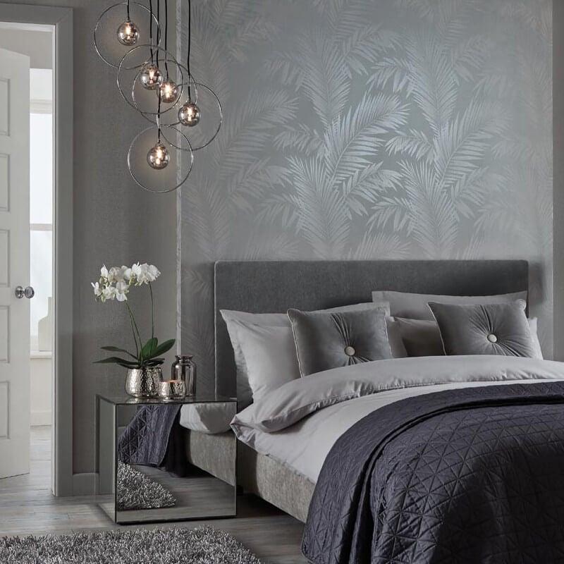 colore-argento-carta-parati