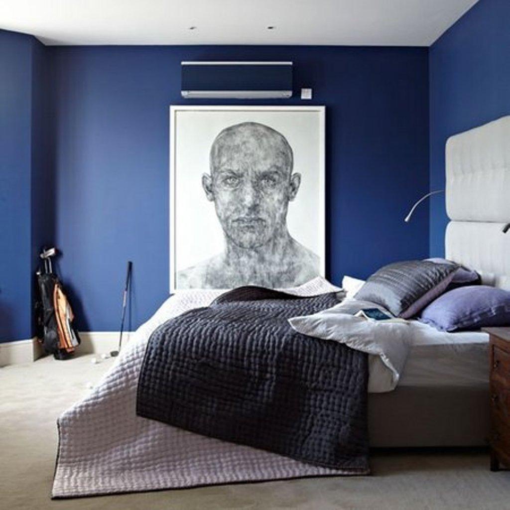 Le 5 sfumature di blu per la camera da letto