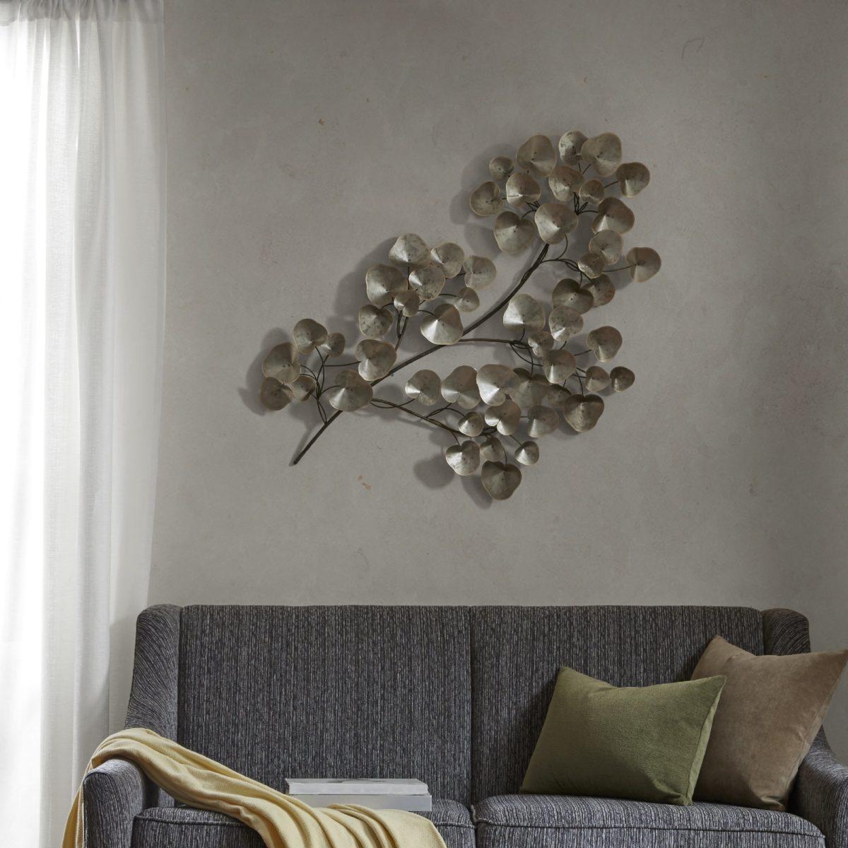 Disegni Sui Muri Di Casa colore argento come usarlo in casa