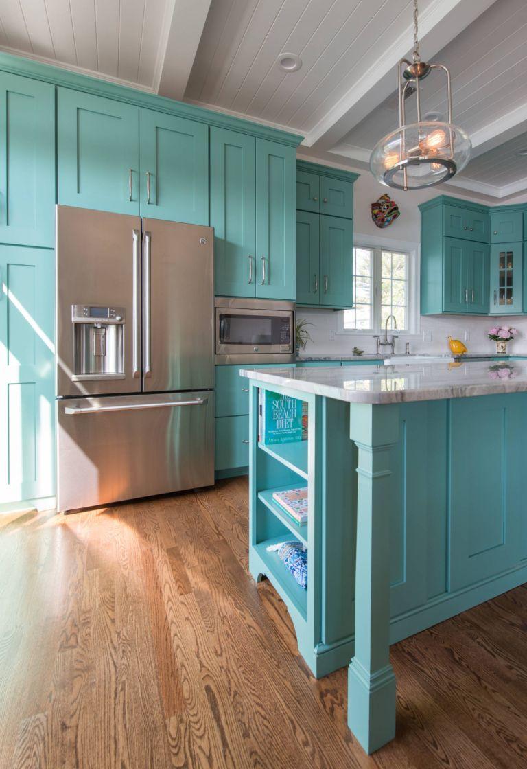 colore-turchese-cucina