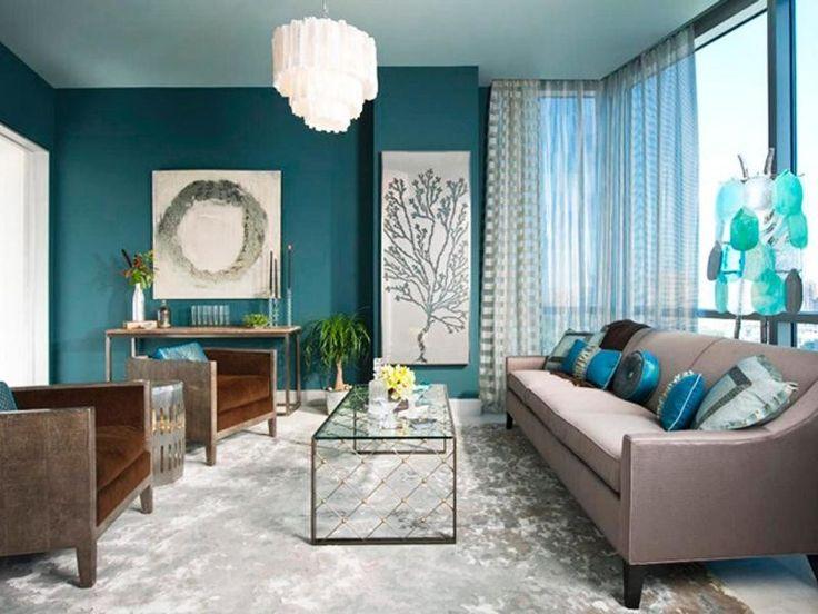 colore-turchese-soggiorno