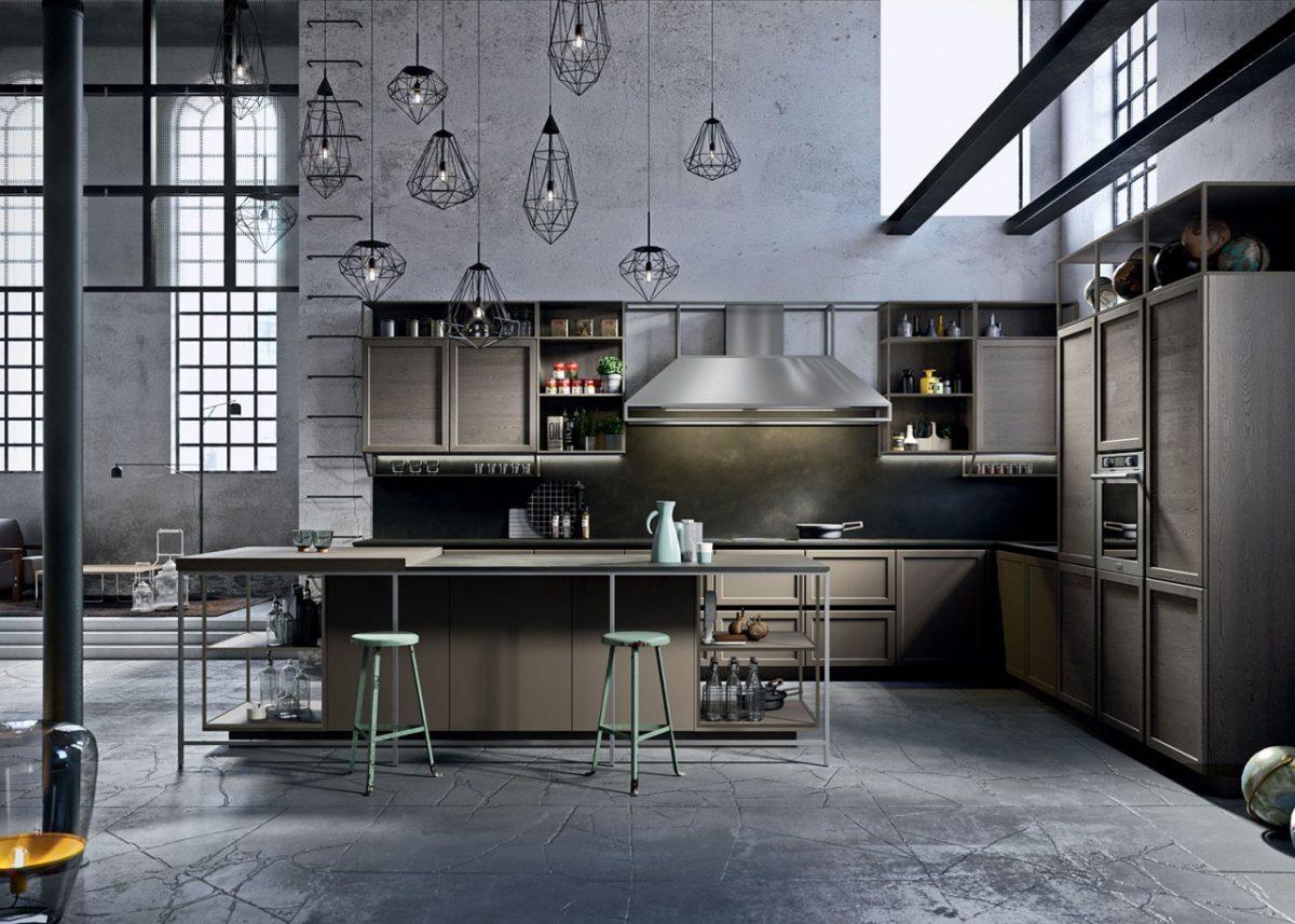 cucina-snaidero-industriale-catalogo-2019