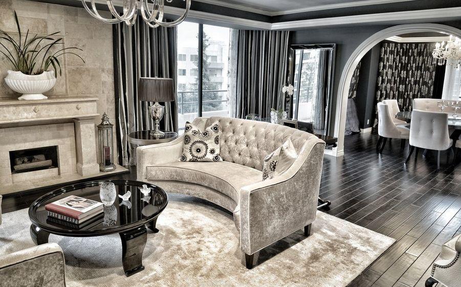 Stile glamour arredare casa fascino - Casa stile classico ...