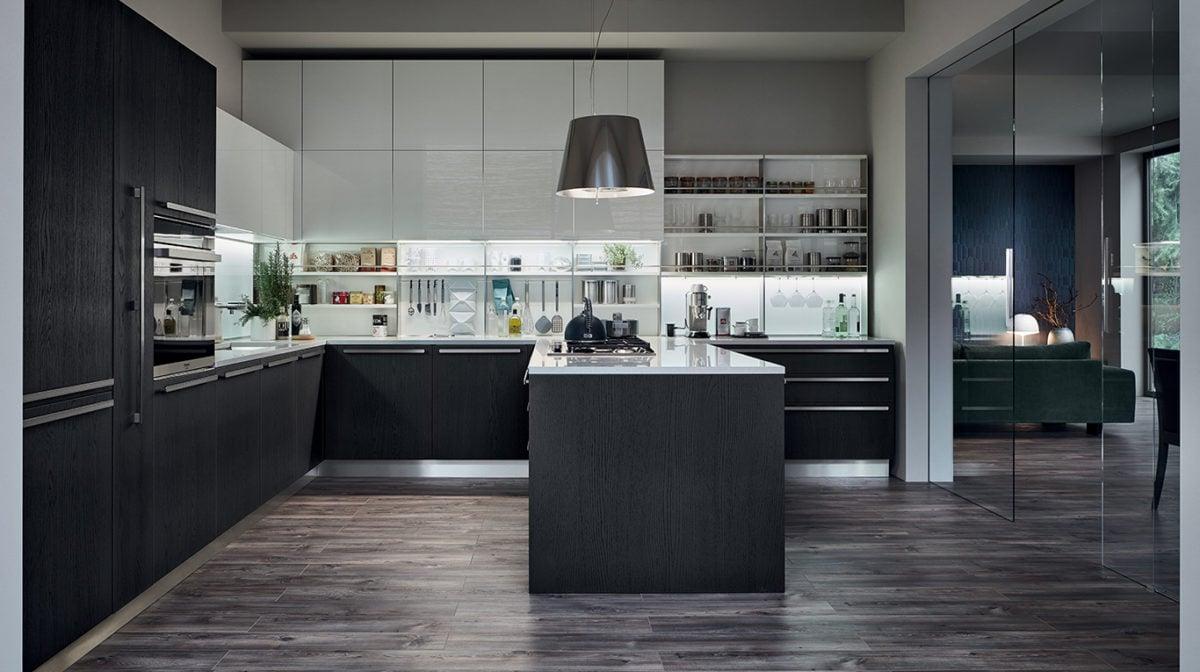 Veneta cucine catalogo 2019 - Cucine moderne con dispensa ...