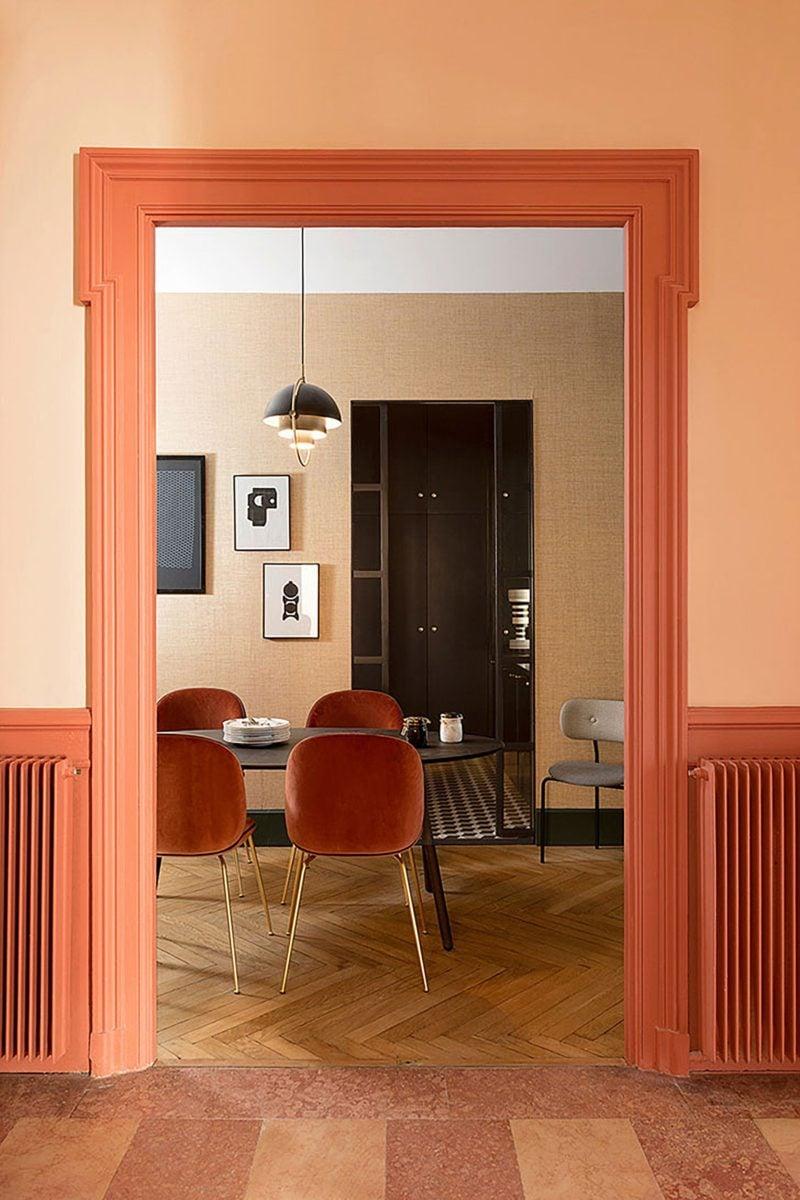 color-corallo-soggiorno-ingresso