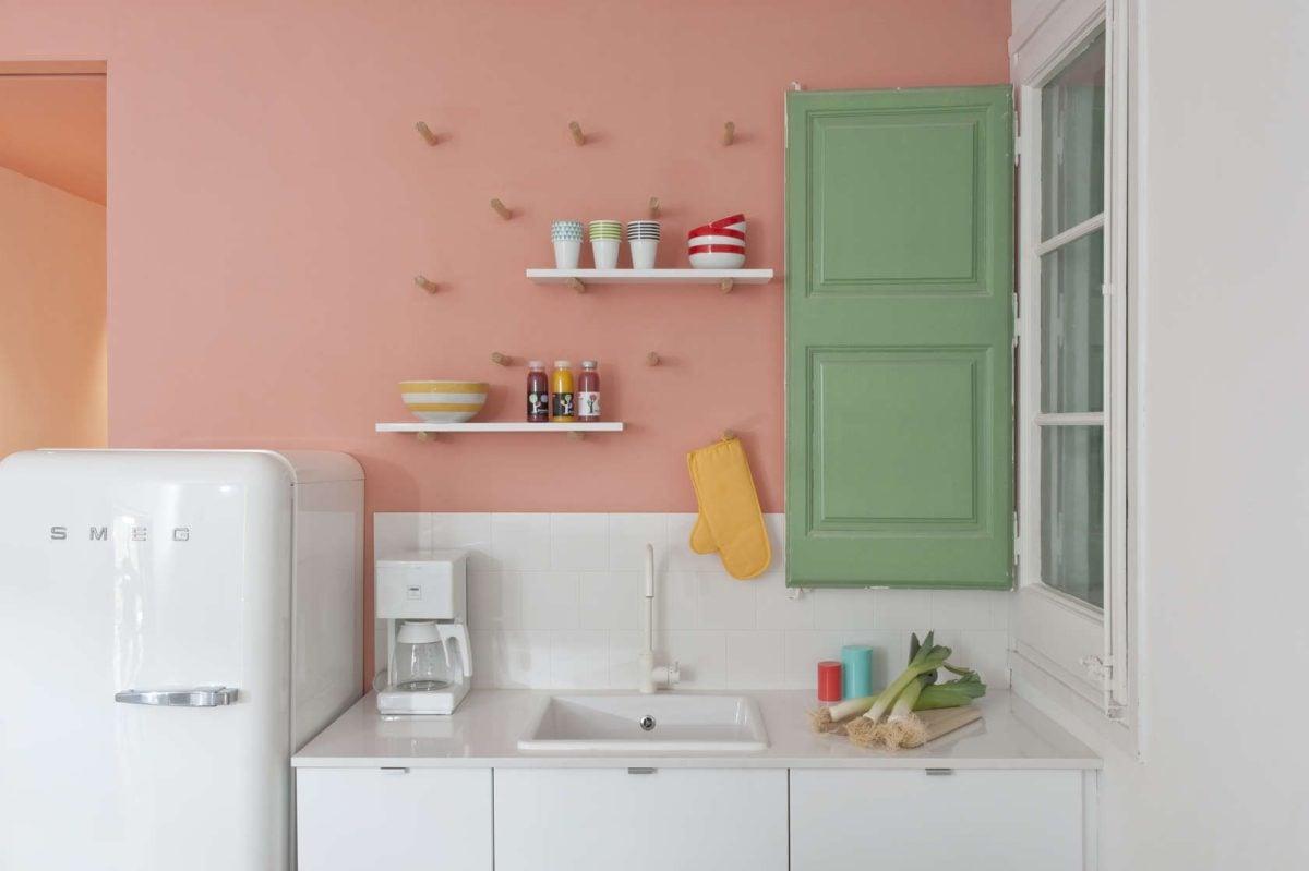 Pareti Rosa Salmone : Colore salmone come usarlo per arredare casa