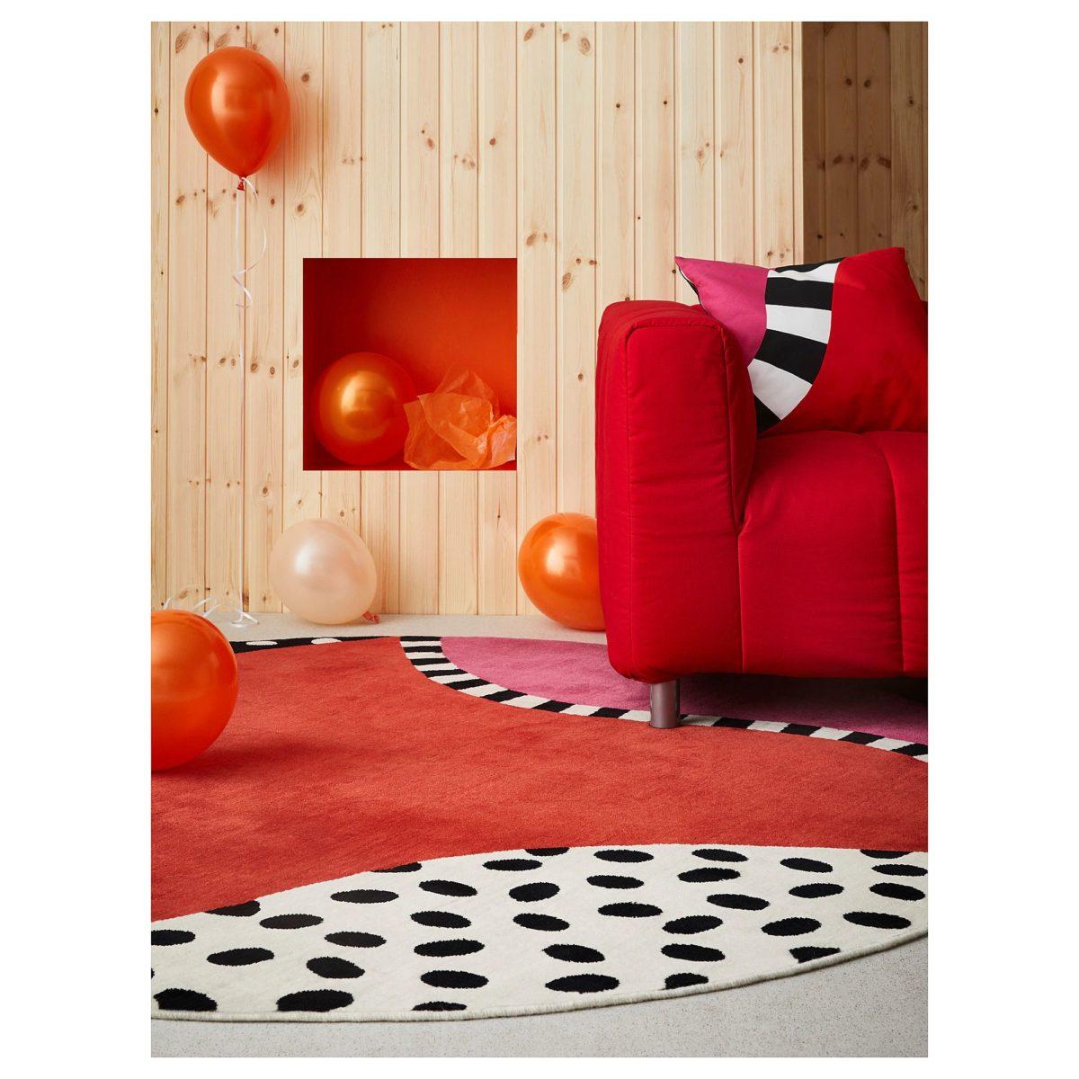tappeto-ikea-rosso