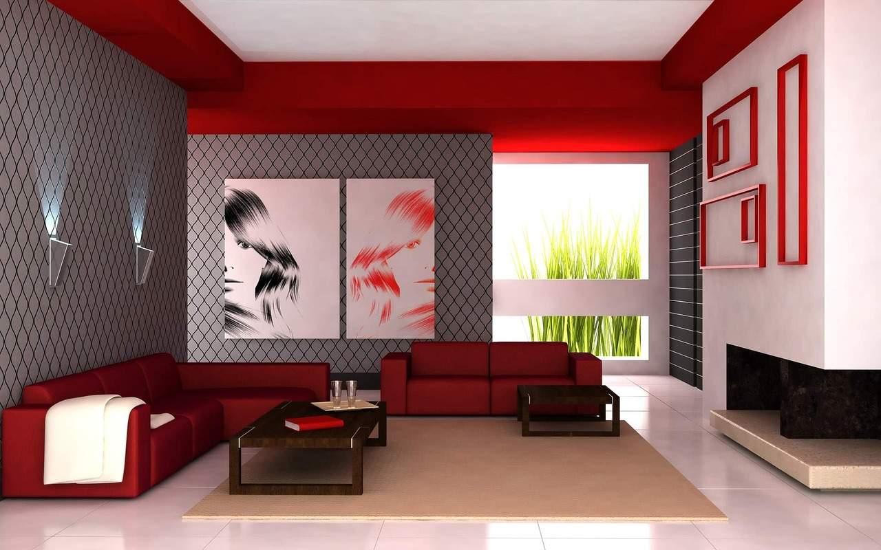color-rosso-ferrari-soggiorno