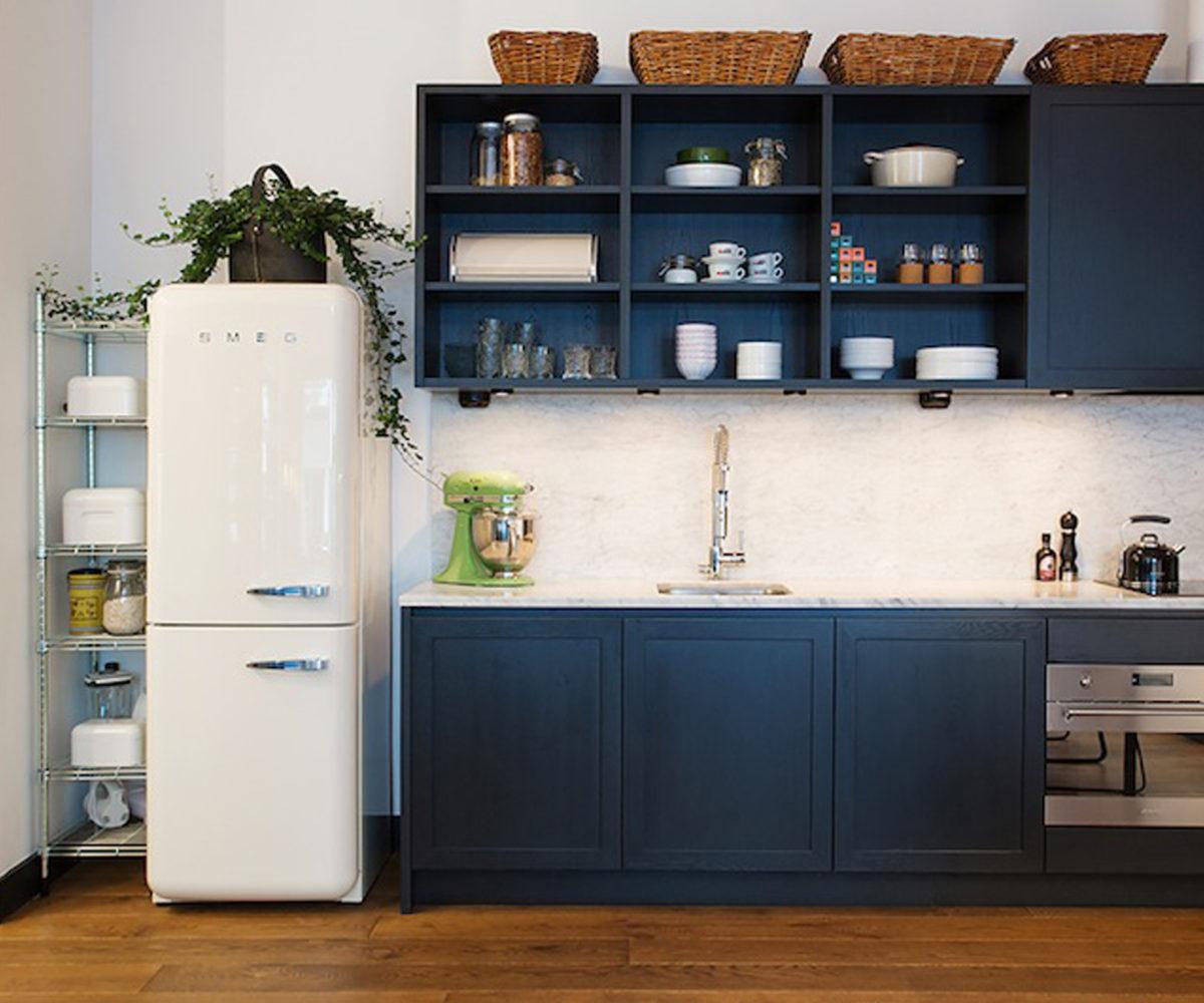 cucina-stile-country-frigorifero