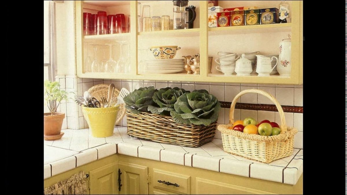 cucina-stile-country-cesta