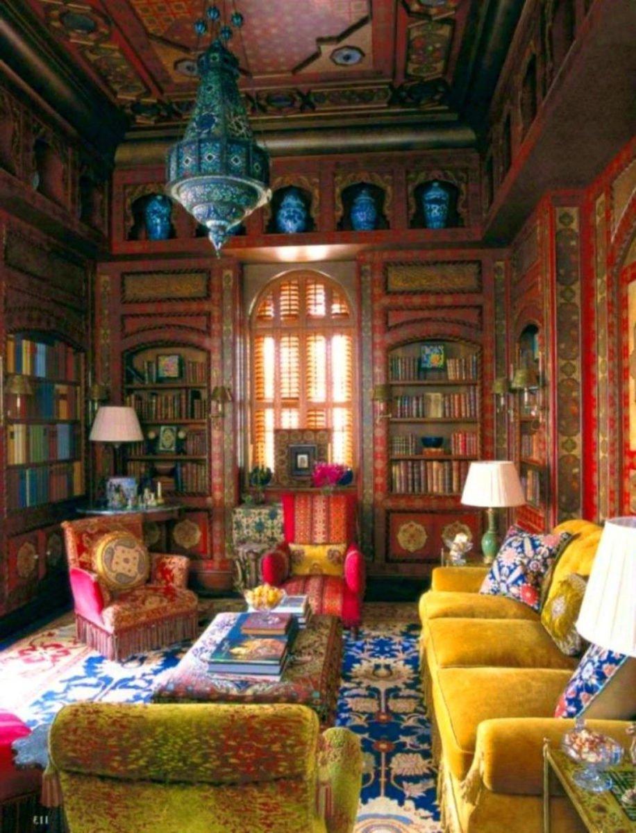 stile-bohemien-salotto