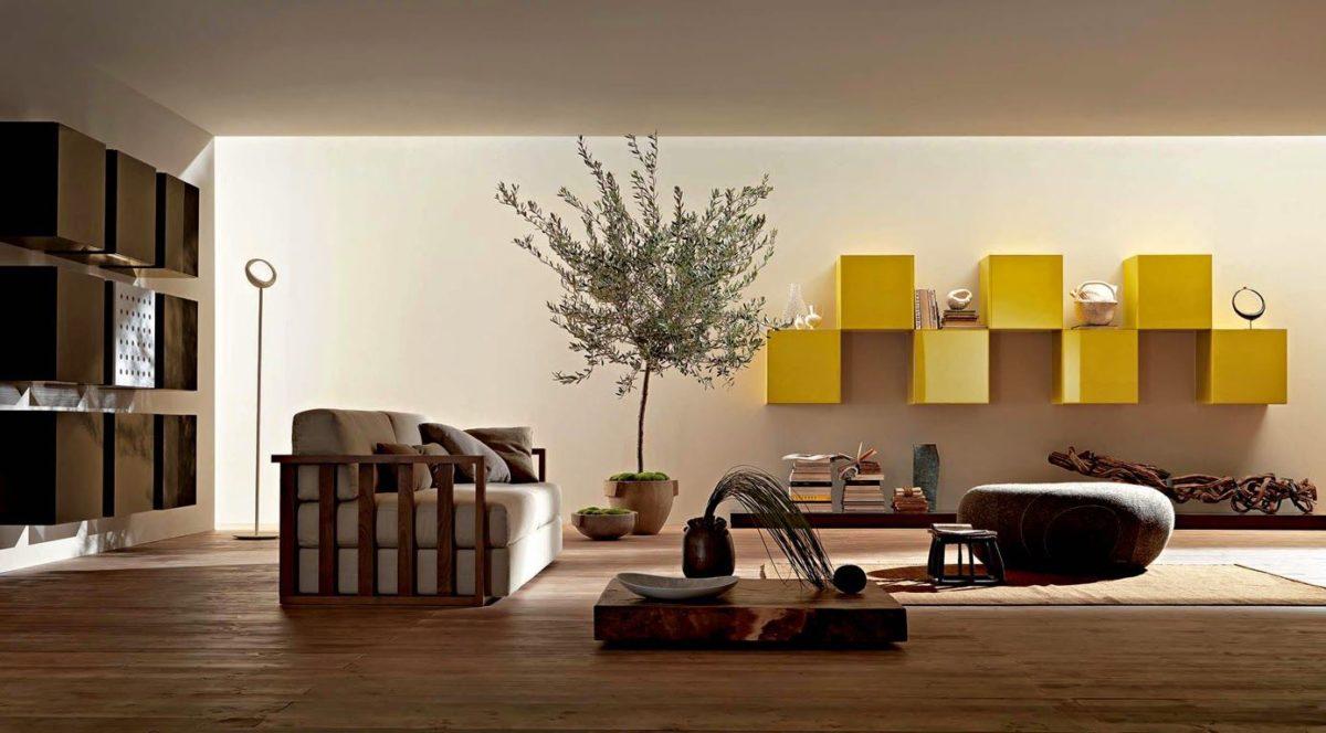 Arredare Mensole Soggiorno come arredare casa in stile zen