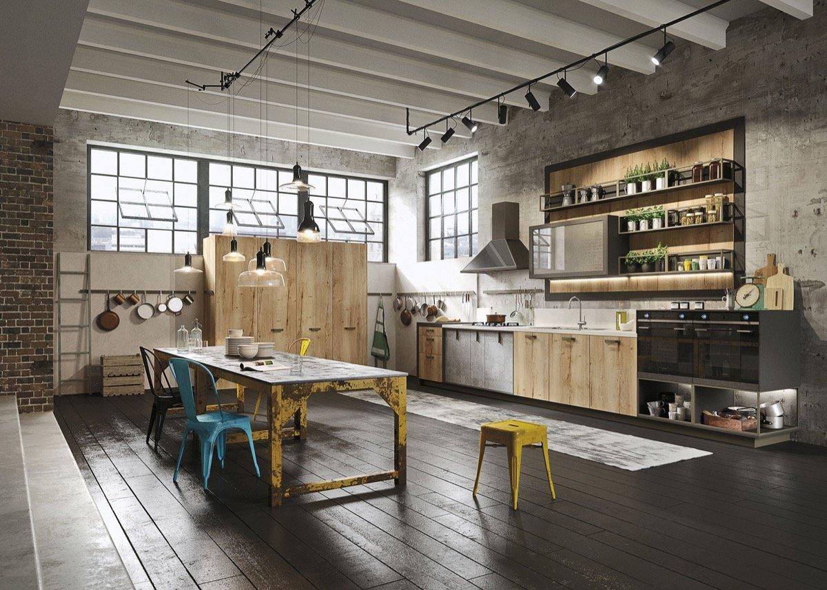 Come realizzare una cucina in stile industriale
