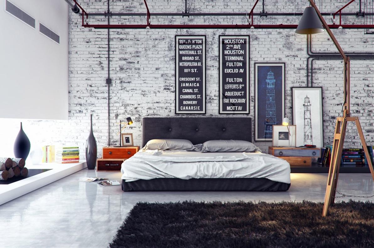 stile-metropolitano-camera-letto