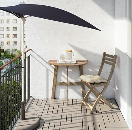 Tavolino Da Ringhiera Ikea.Ikea Catalogo Estate 2019 Balconi Terrazzi Giardino E Mare