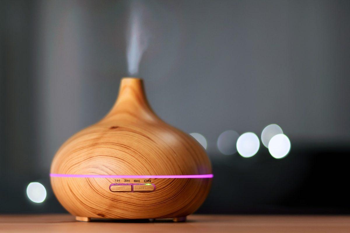 diffusore oli essenziali aromaterapia