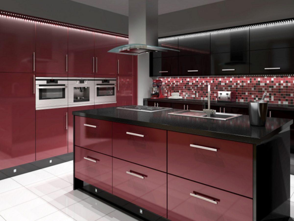 Cucina-rossa-nera