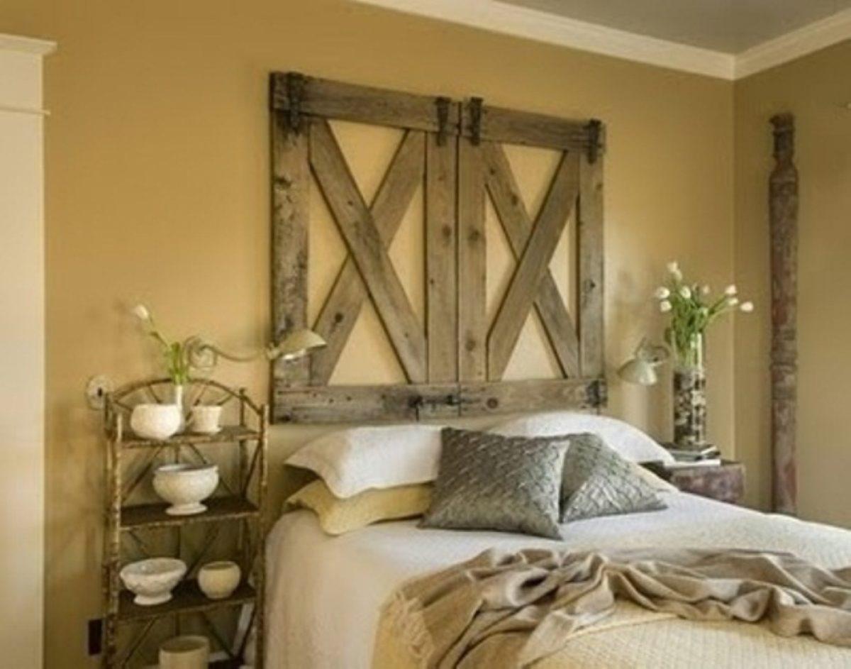 Il perfetto stile country per la camera da letto