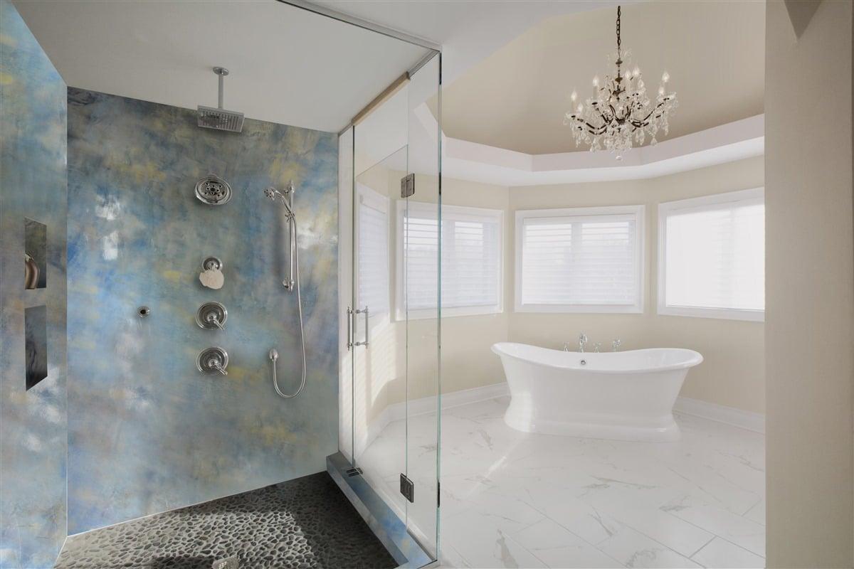 Resina Pareti Bagno Costi ispirazioni fantasiose per un bagno in resina