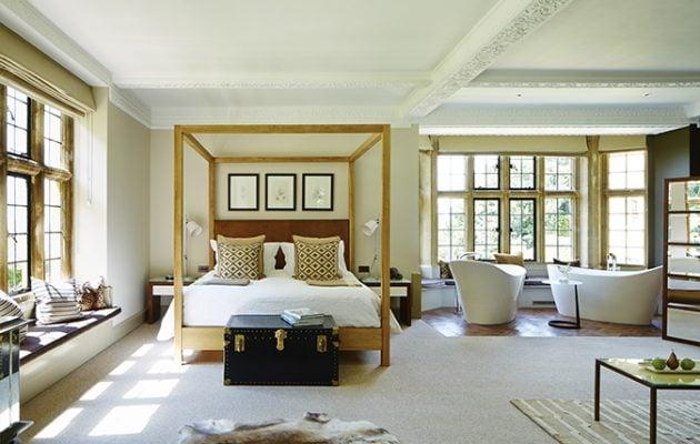 Vasca Da Bagno Nella Camera Da Letto : La zona relax ideale con una vasca da bagno freestanding
