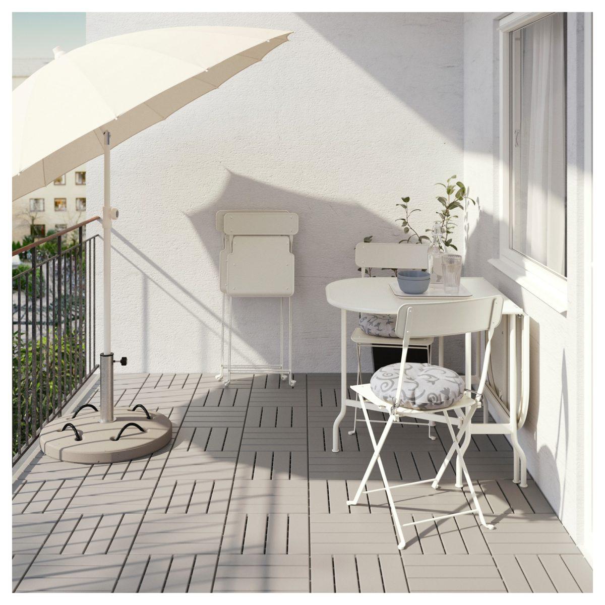 Come Arredare Il Balcone Con Ikea A Meno Di 50 Euro