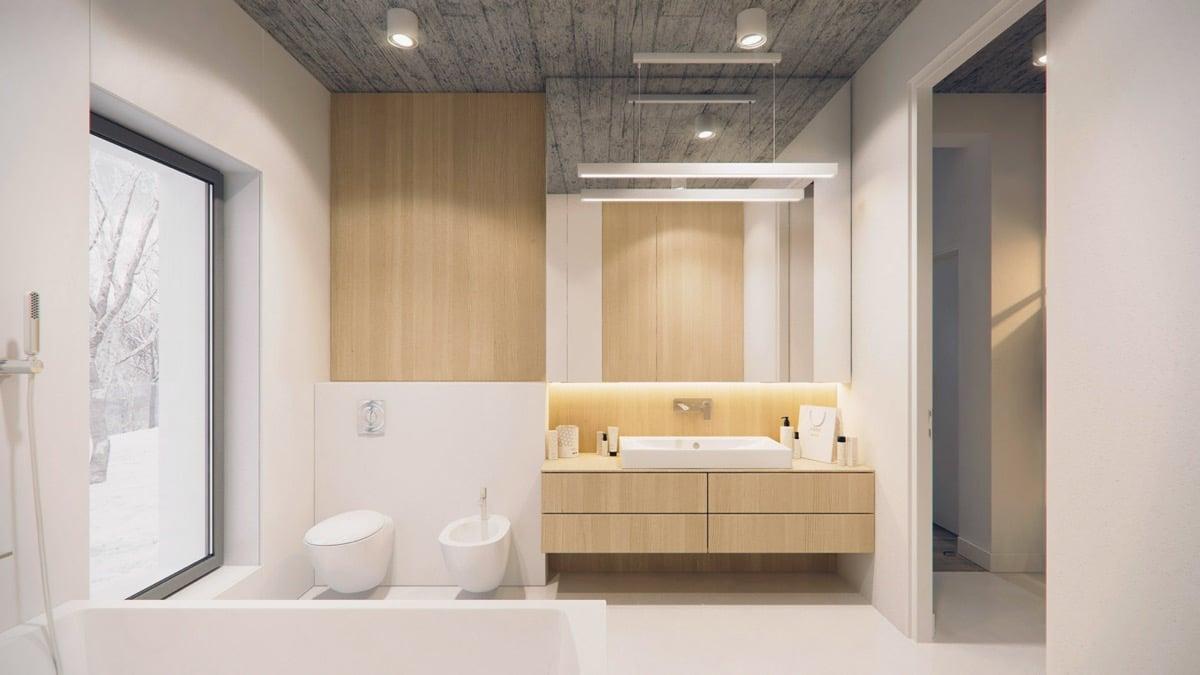 bagno-stile-minimal-illuminazione