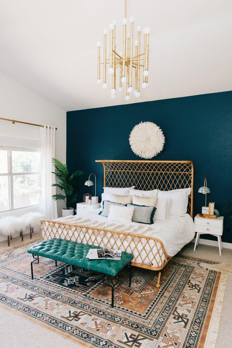 colore-foglia-tè-camera-letto-2