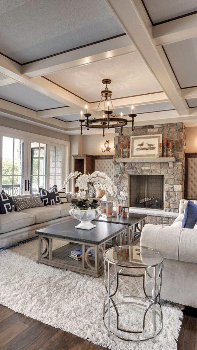 Come realizzare uno stupendo soggiorno in stile country chic