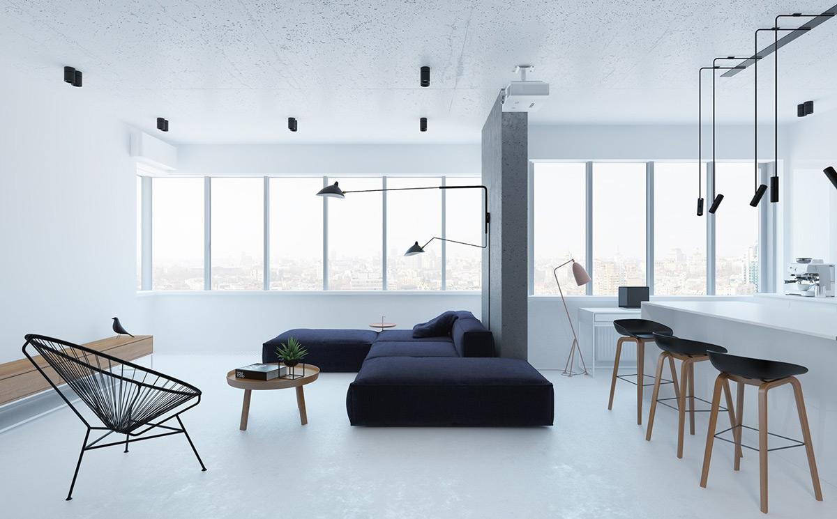 I consigli per avere un soggiorno minimal ed elegante for Soggiorno elegante