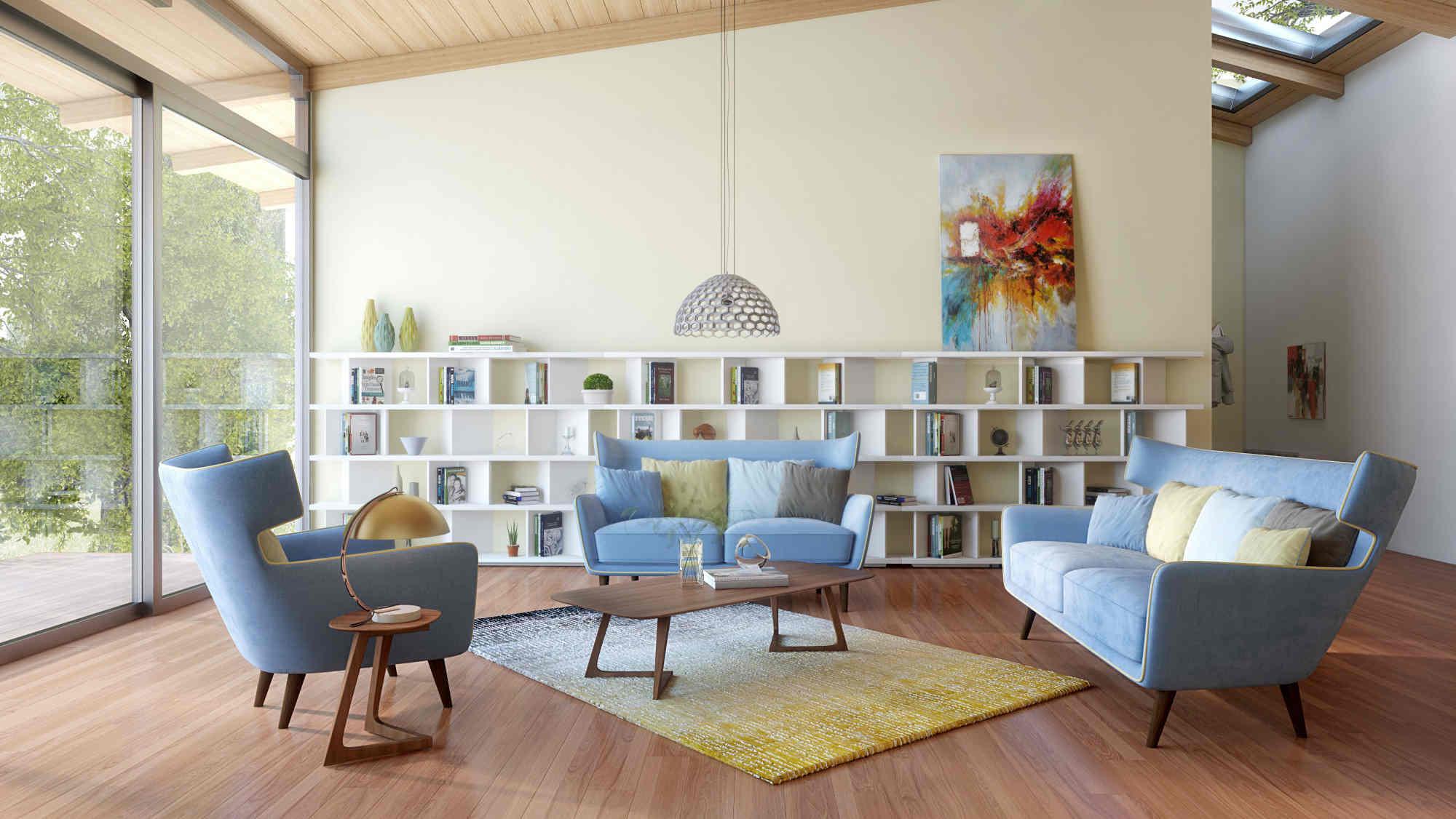 30 idee per arredare casa stile anni 70 ForArredamento Stile Anni 70
