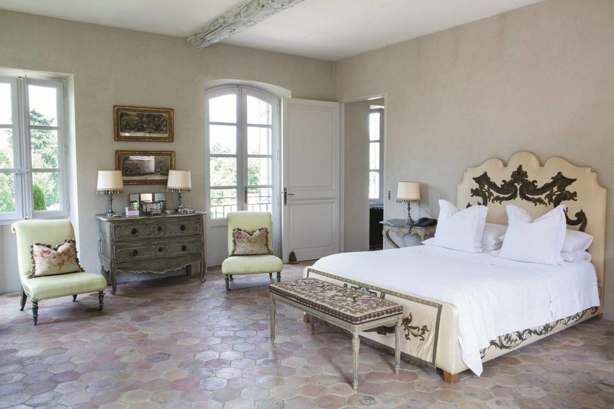 Le idee più attraenti per la camera da letto provenzale