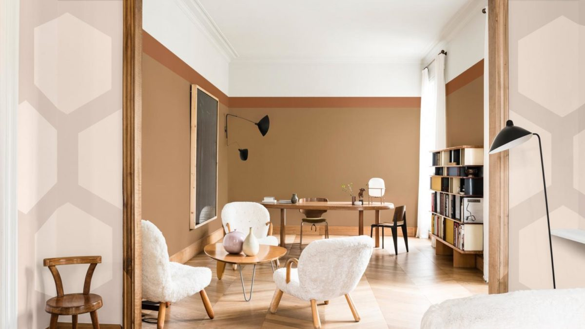 Pareti Di Casa Colori il tocco di eleganza con le pareti color sabbia