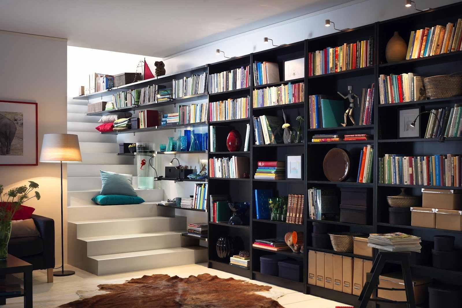 Libreria A Muro Moderna Ikea ikea billy hack: come trasformare la libreria più famosa al
