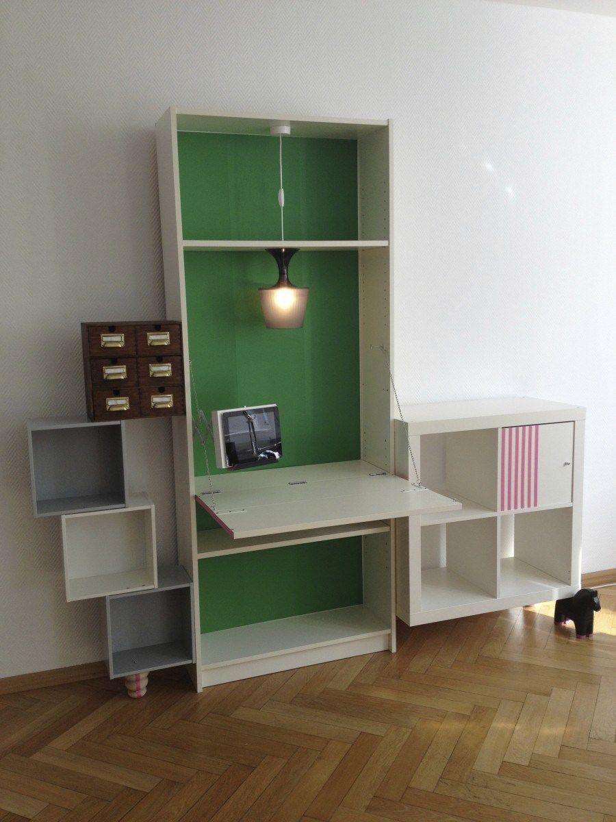 Libreria Da Parete Ikea ikea billy hack: come trasformare la libreria più famosa al