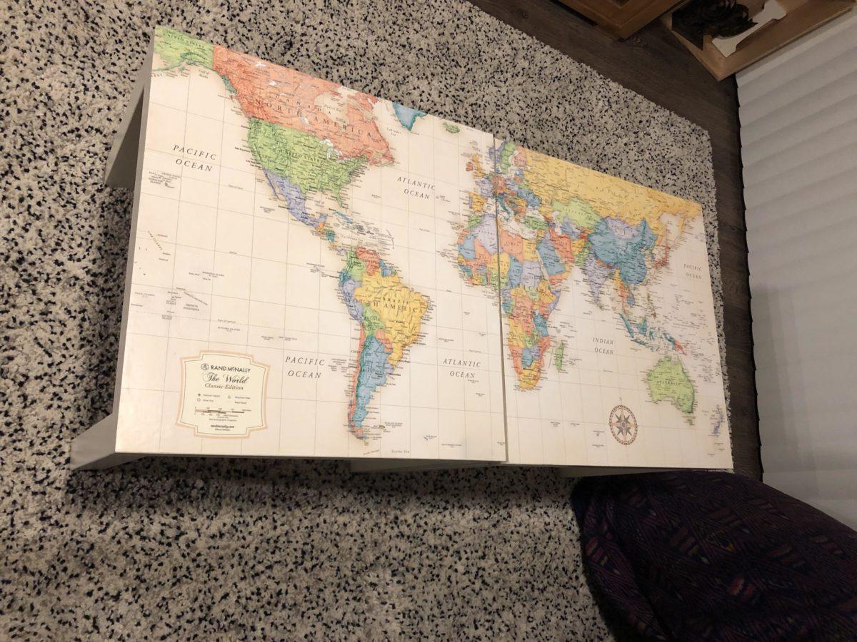 Cartina Mondo Ikea.Galleria Foto Ikea Lack Come Hackerare Il Tavolino Piu Famoso Al Mondo Foto 1