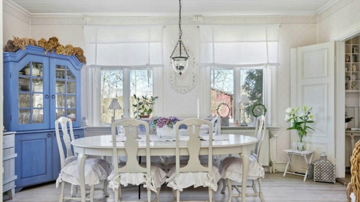 Idee meravigliose per arredare la sala da pranzo in stile for Arredare la sala
