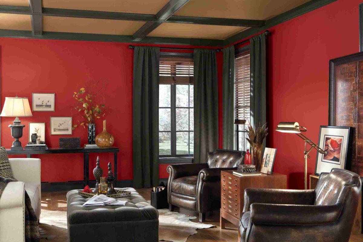 50 sfumature di rosso per la casa