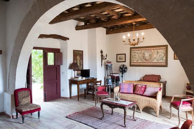 soggiorno-stile-siciliano