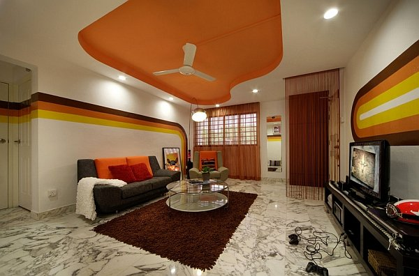 abbellire-parete-tv-futuristico