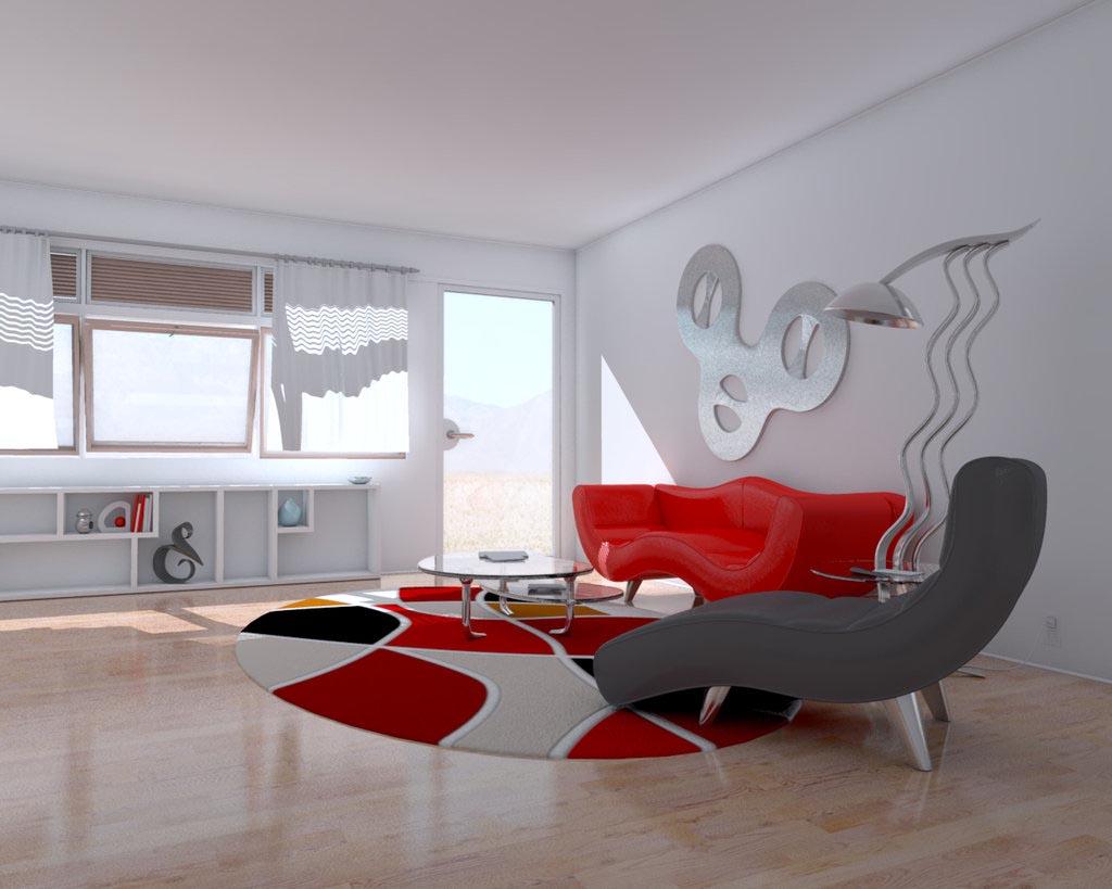 arredare-soggiorno-bianco-rosso-14