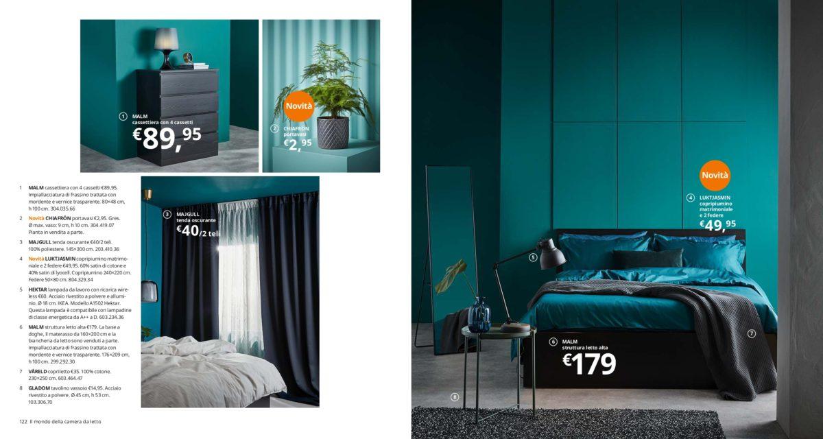 Camera Letto Matrimoniale Ikea.Ikea Camere Da Letto Il Catalogo 2020