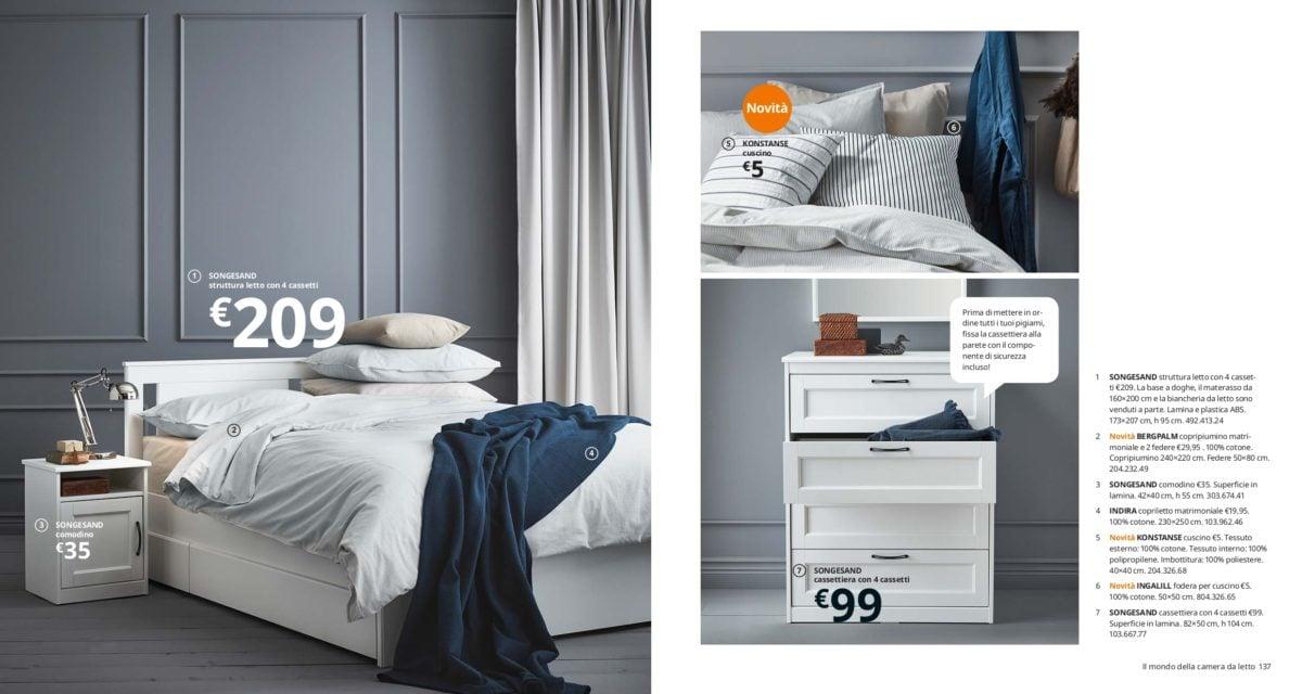 Catalogo camere da letto IKEA 2020