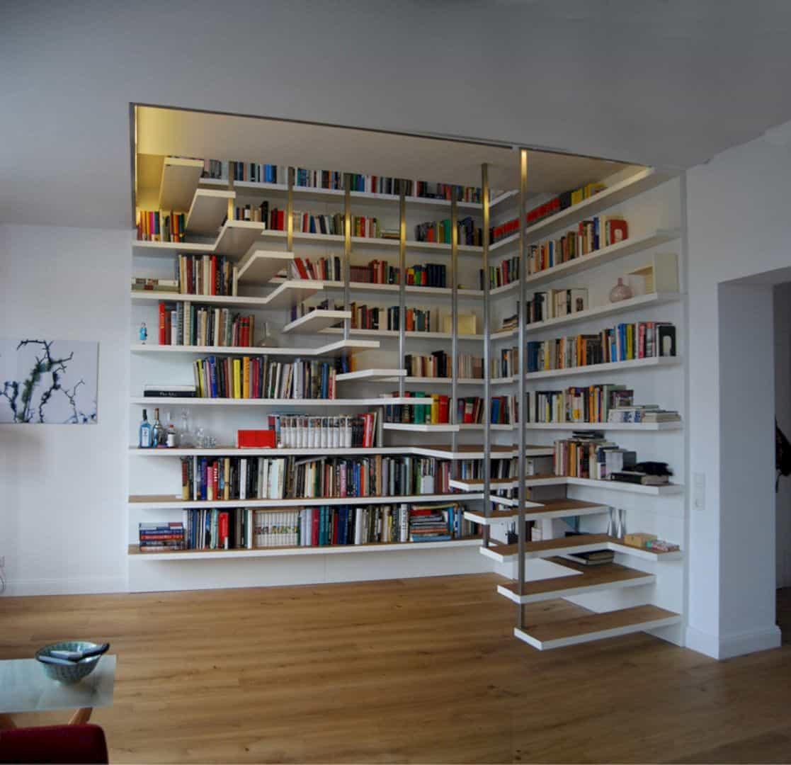 Libreria Per Libri Pesanti 10 fantastiche idee di librerie low cost