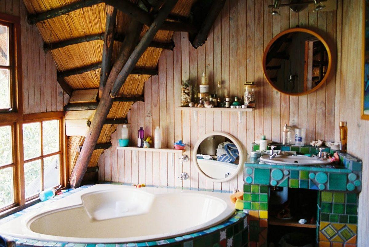 bagno-stile-bohemien-vasca-idromassaggio