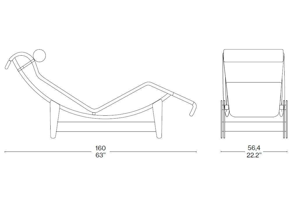 chaise-longue-lecorbusier-disegno