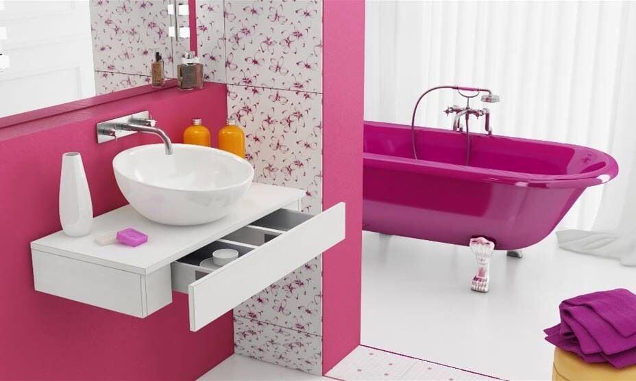 color-amaranto-bagno-pareti